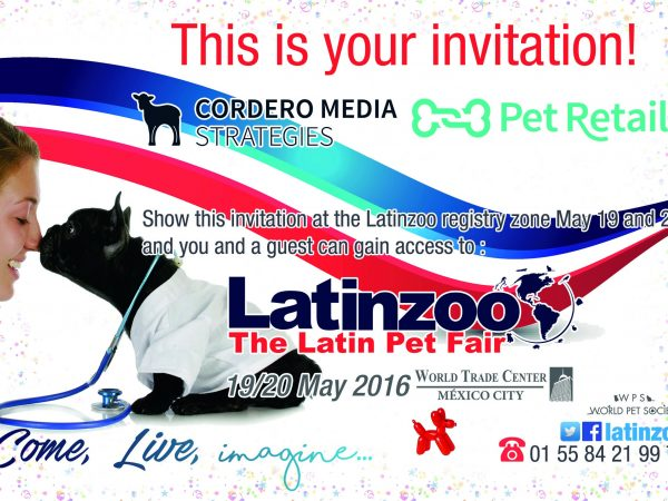 Come check out Cordero Media at LatinZoo LatinZoo (Mexico City) May 19-20. Booth #974